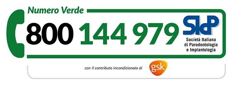 Numero verde Gironata Nazionale della Parodontite
