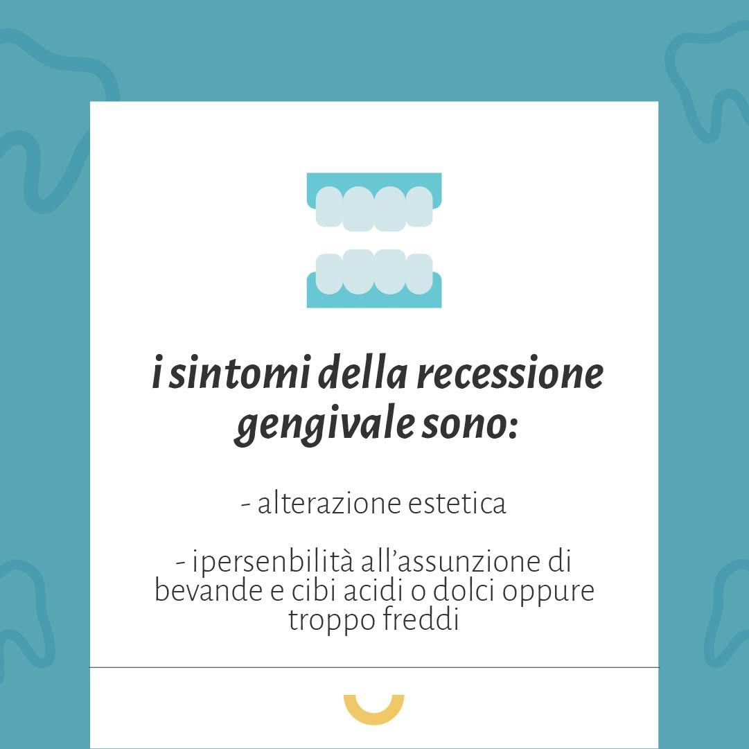 recessione gengivale